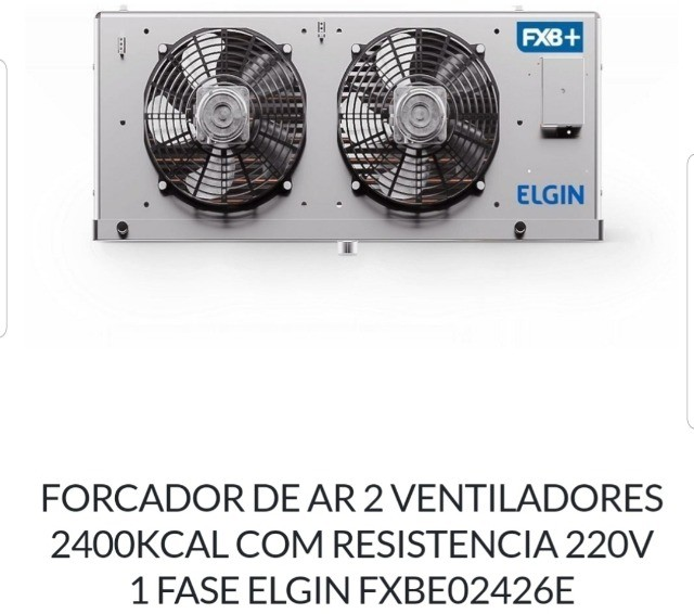 Condensadora e evaporadora Elgin 1hp - Foto 3