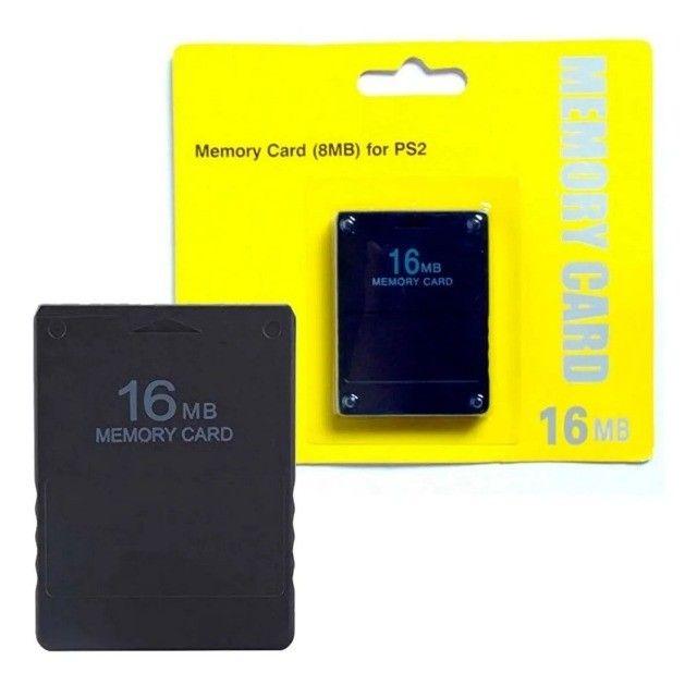 Memory Card 16mb Playstation 2 Cartão De Memória Ps2