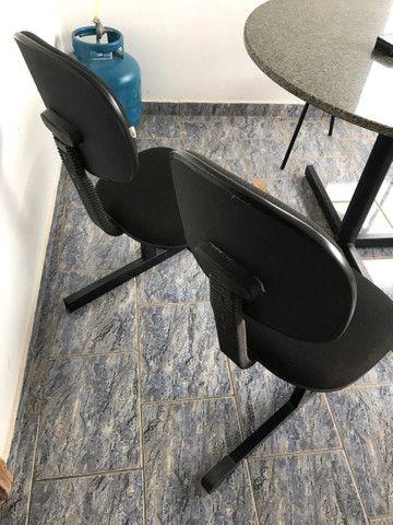 Cadeira dupla para escritório - Foto 2