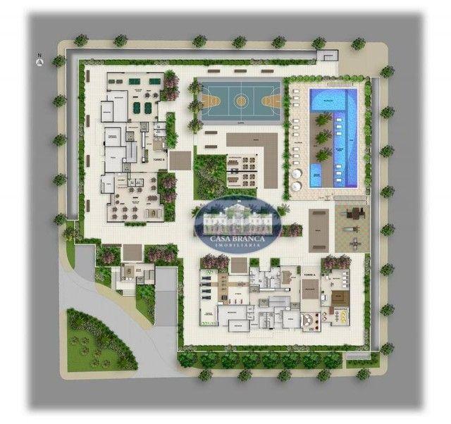 Apartamento com 2 dormitórios à venda, 84 m², lazer completo - Parque das Paineiras - Biri - Foto 20