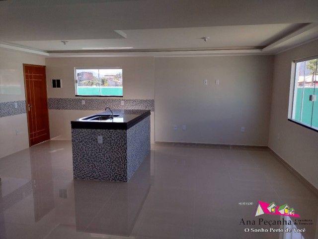 Lindíssima Casa, 3 dormitórios e Terreno Grande em Itaipuaçú! - Foto 8