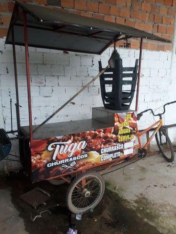 Bike de churrasco e lanches  - Foto 5