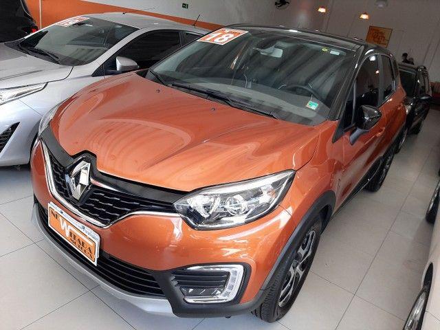 Renault Captur Intense 1.6 automatico CVT 2018 único dono. Revisões na concessionária. - Foto 4