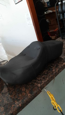 Banco confort para moto custom - Foto 2