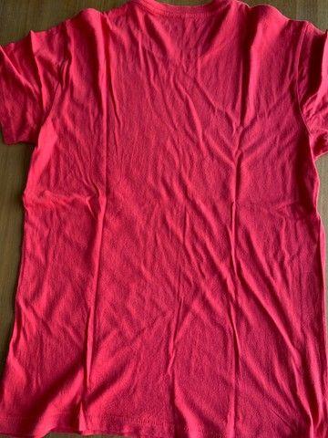 Camisa Rosa Basica - Foto 2