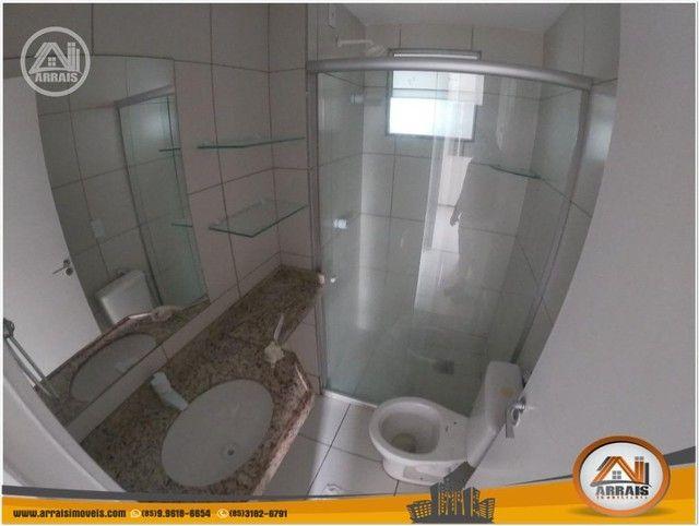 Apartamento com 3 dormitórios à venda, 64 m² por R$ 250.000 - Maraponga - Fortaleza/CE - Foto 16