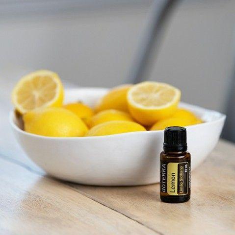 Óleo Essencial doTerra -Lemon - Limão-Siciliano