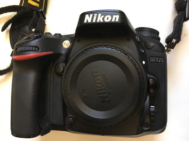 Nikon 7100 semi nova corpo
