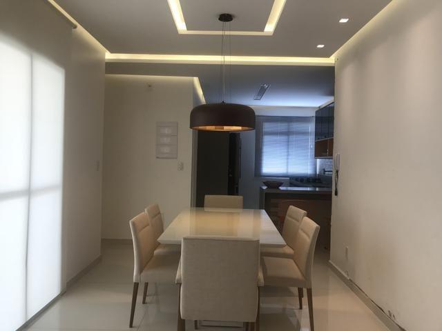 Apartamento De 100m2 Com 3 Quartos | Projetado| Mobiliado e Climatizado