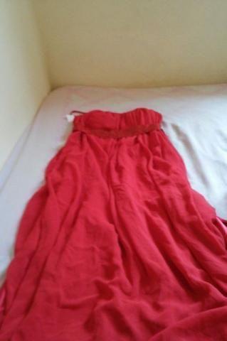 Vestido de festa usado, bem conservado