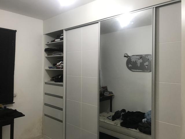 Apartamento 3/4 parcialmente mobiliado barra dos coqueiros