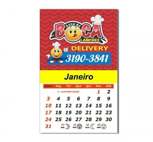 Super promoção 500 Ímãs de Geladeira com calendário