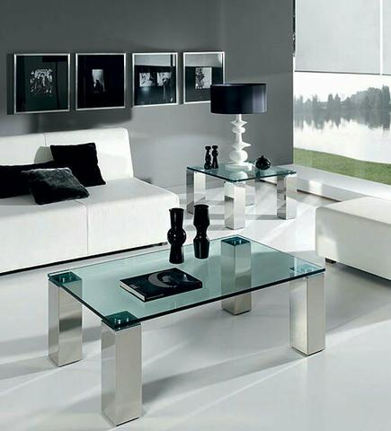 Mesa de centro e aparador de sofá