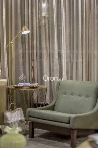 Apartamento com 3 dormitórios à venda, 84 m² por R$ 524.000,00 - Setor Oeste - Goiânia/GO - Foto 7