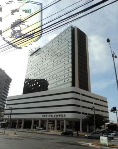 3225 - (3225) Sala no Office Tower, toda planejada com vista para Colares More... - Foto 11