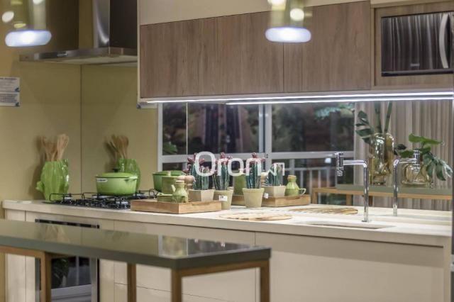 Apartamento com 3 dormitórios à venda, 84 m² por R$ 524.000,00 - Setor Oeste - Goiânia/GO - Foto 11