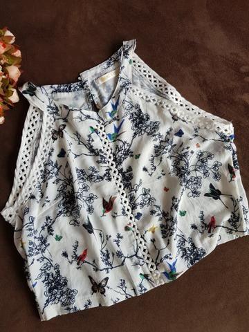 Blusas cropped