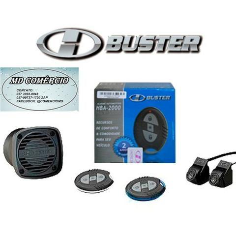 Alarme carro automotivo com 2 controles H-buster Hba-2000