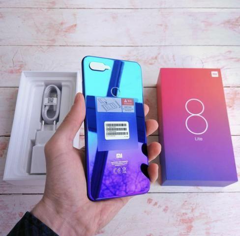 12 x R$: 129,99 Promoção Xiaomi Mi 8 Lite 64gb Lacrados com Garantia
