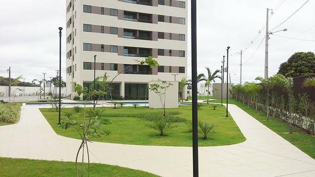 Aurea Guedes - Apartamento com 3 quartos sendo 1 suíte em Ponta Negra - Foto 4