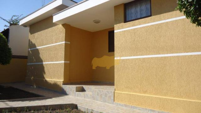 Casa residencial à venda, Vila Indaiá, Rio Claro.