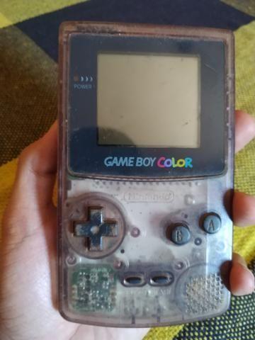 Vendo game boy color(Reliquia) com jogo