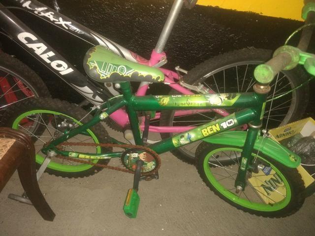 Bicicleta ben10 aro 16