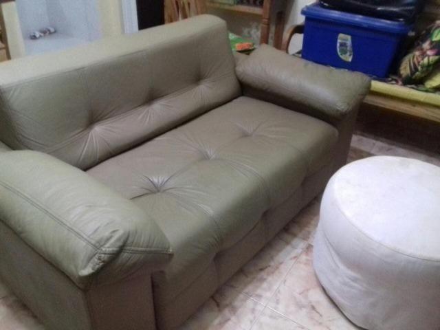 Inacreditavel Sofa de Couro de Verdade Confortavel Perfeito