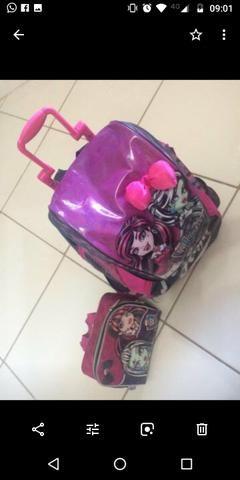 Mochila e Lancheira Monster Hight