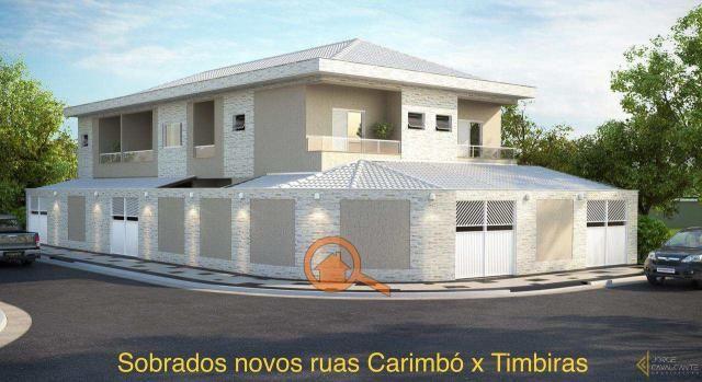 Sobrado com 2 dorms, Tupi, Praia Grande - R$ 370 mil, Cod: 43...