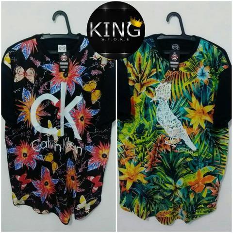 Promoção de Camisas LongLine
