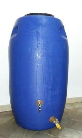 Tambor Cisterna 250 Litros Completa Com Torneira e Registro VAP - (Reservatório/Bombona/Ba - Foto 4
