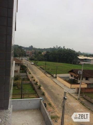Apartamento com 3 dormitórios à venda, 91 m² por r$ 300.000 - sol - indaial/sc - Foto 3
