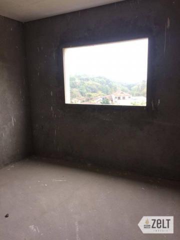 Apartamento com 3 dormitórios à venda, 91 m² por r$ 300.000 - sol - indaial/sc - Foto 10
