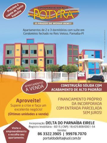 Vendo apartamentos de dois e três dormitórios no Litoral do Piaui