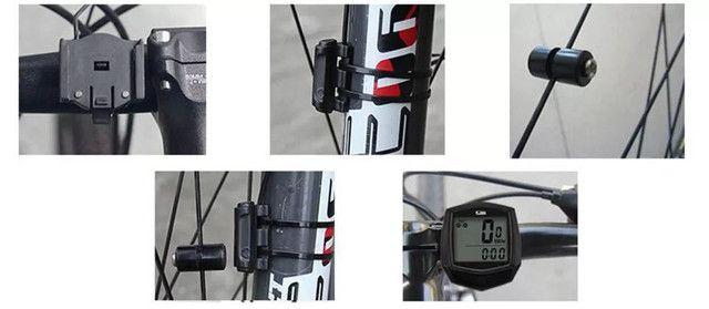 Velocímetro bike bicicleta ciclismo a prova dágua - Foto 3