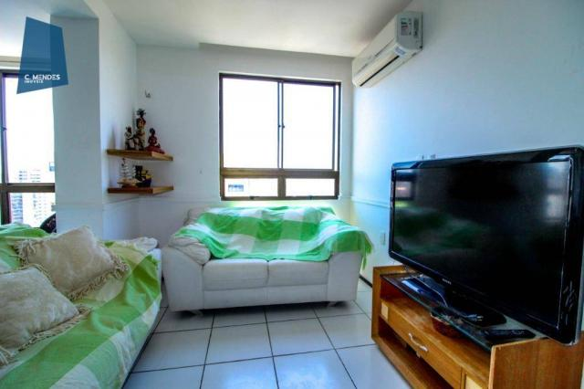 Apartamento Duplex com 5 dormitórios para alugar, 130 m² por R$ 4.500,00/mês - Mucuripe -  - Foto 10