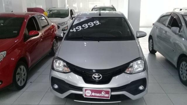 Etios X Sedan Aut baixa km 1.5 DE r$50.990,00 por r$46.990,00