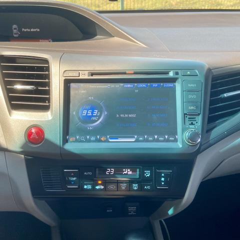 Honda Civic 2.0 Lxr Automático Flex - 2014 - Foto 8