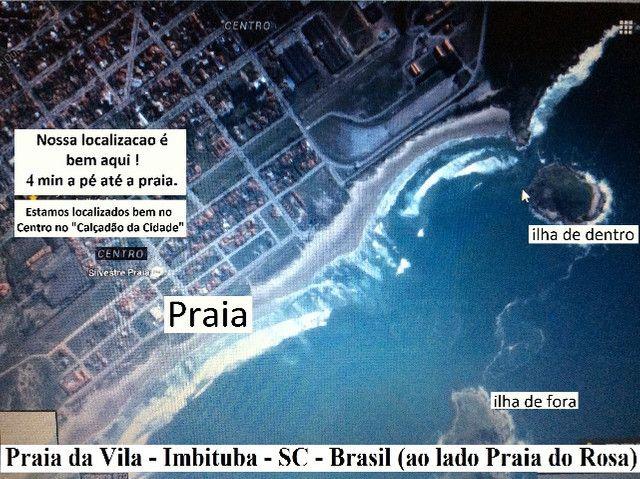 Alugo apartamento de temporada em Imbituba SC centro praia da vila e apto praia do rosa - Foto 3