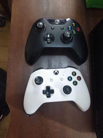 Xbox One 500Mb Semi-novo + 11 jogos e complementos - Foto 4