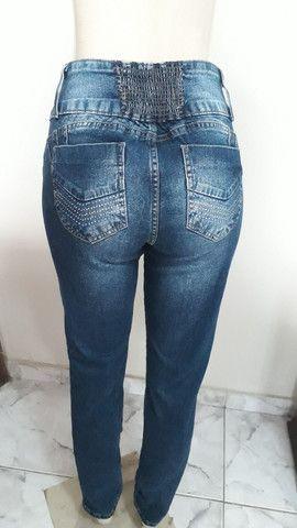 Calça Jeans Azul clockhouse 44 - Foto 2