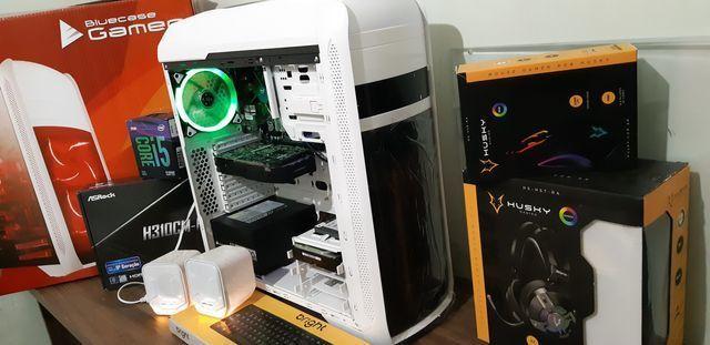 PC game 9°geração, i5 9400f, HD ssd240g, Gtx1050, 8g dd4, até 10x sj - Foto 5