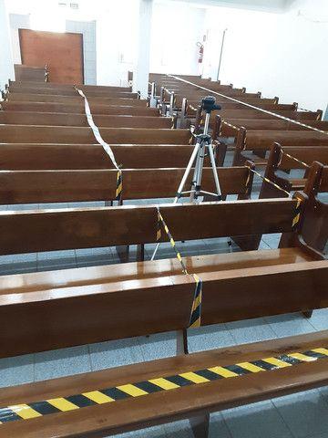 Bancos de madeira para igreja  - Foto 5