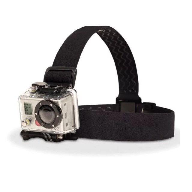 Suporte Cabeça GoPro Câmeras Ação - Foto 4