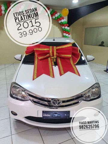 ¥ Etios sedan Platini 2015 .39.900¥
