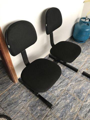 Cadeira dupla para escritório