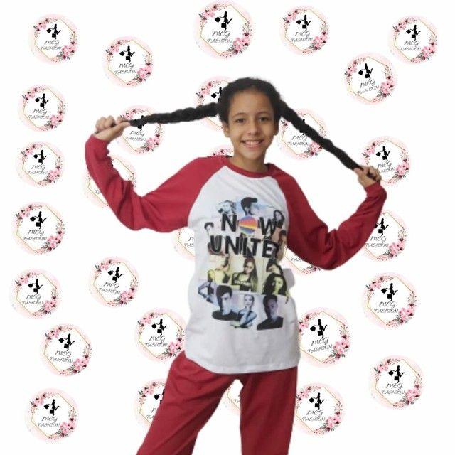 Pijama infantil personagem 02 à 12 anos - Foto 2
