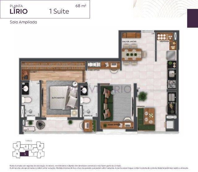 empreendimento com 1 dorm 68m² - fácil acesso a Dutra - Foto 3