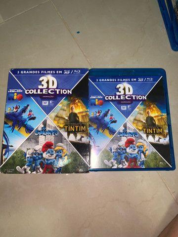 DVD Blu-ray 3D Rio, Os Smurfs e As Aventuras de Tintim